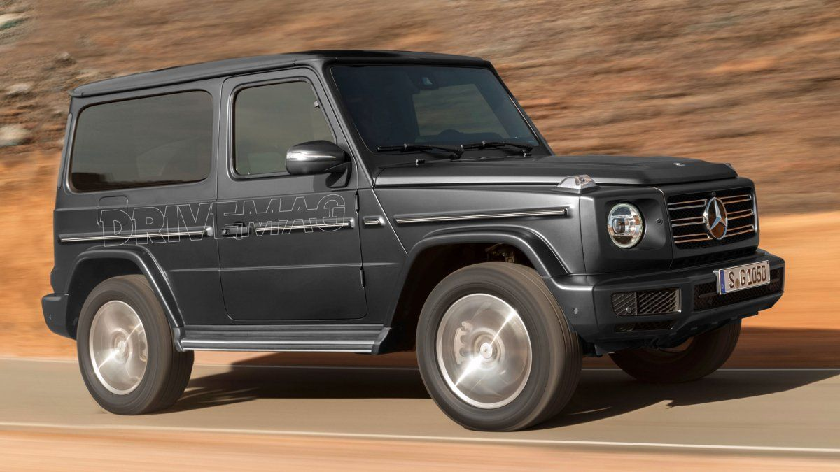 This Is The New Three Door G Class Mercedes Could Have Made