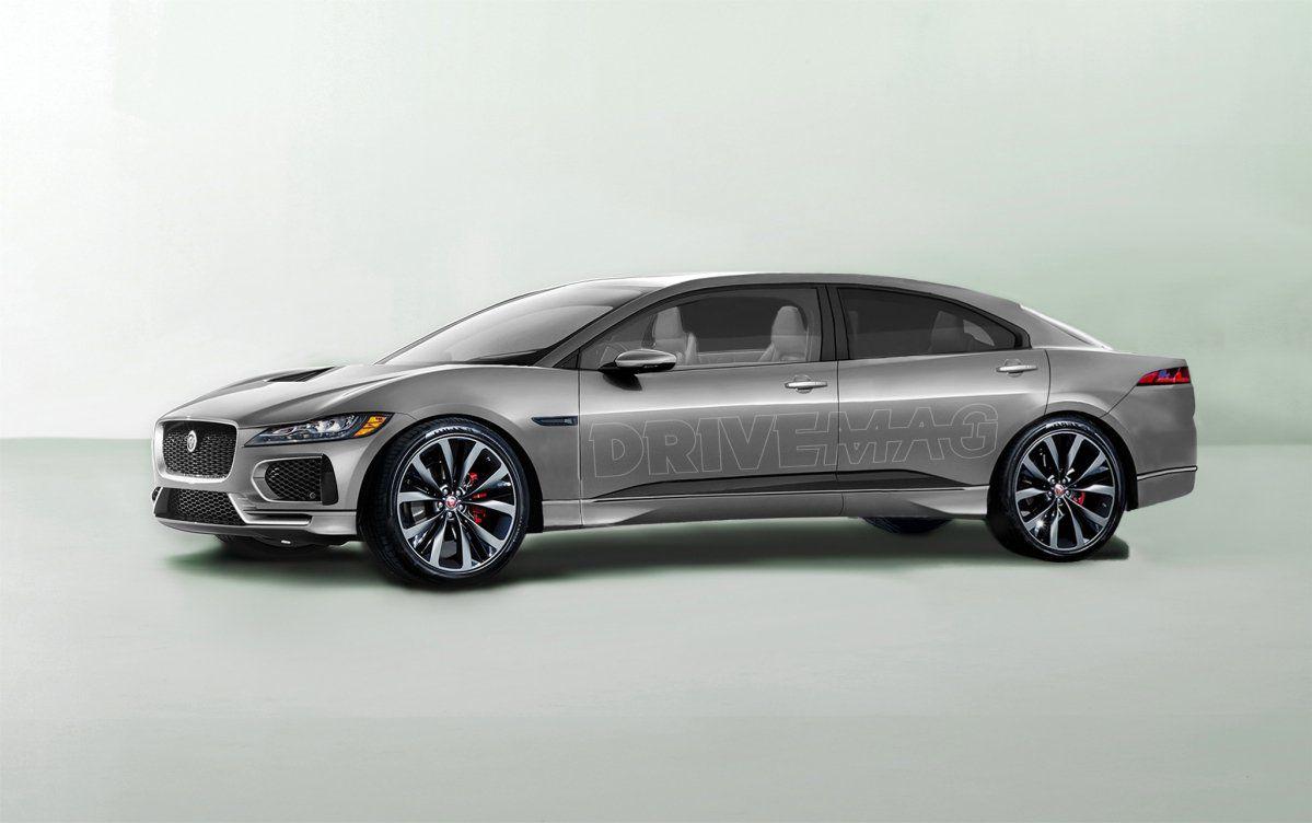 Next Jaguar Xj May Return As Fully Electric Luxury Sedan