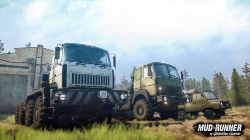 mudrunner spintires the valley vehicles