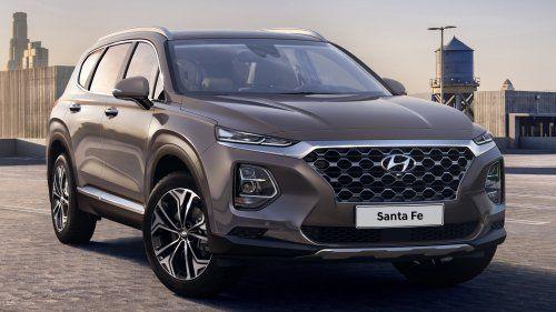 2018 Hyundai Santa Fe front