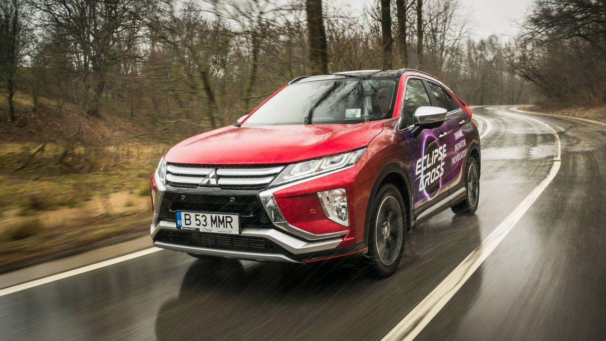We drive Mitsubishi's 2018 Eclipse Cross 1 5T AWD CVT
