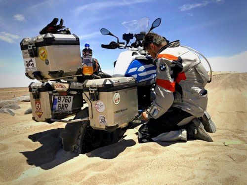 BMW R1200GS Go South