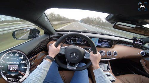 Mercedes-AMG S63 Top speed