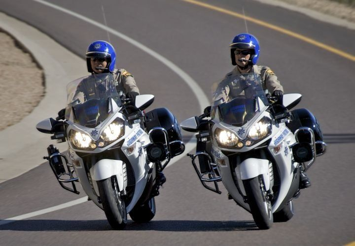 Police motorcycles around the world