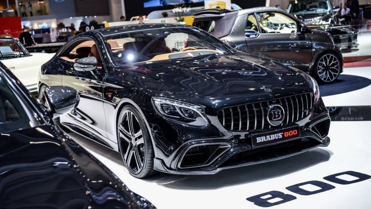 Facelifted Mercedes Amg S63 Coupe And Sedan Get The Brabus