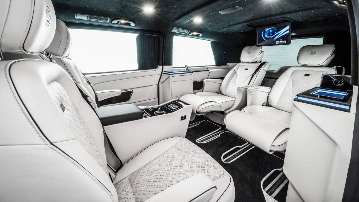 brabus business plus is a mercedes benz v class packed. Black Bedroom Furniture Sets. Home Design Ideas