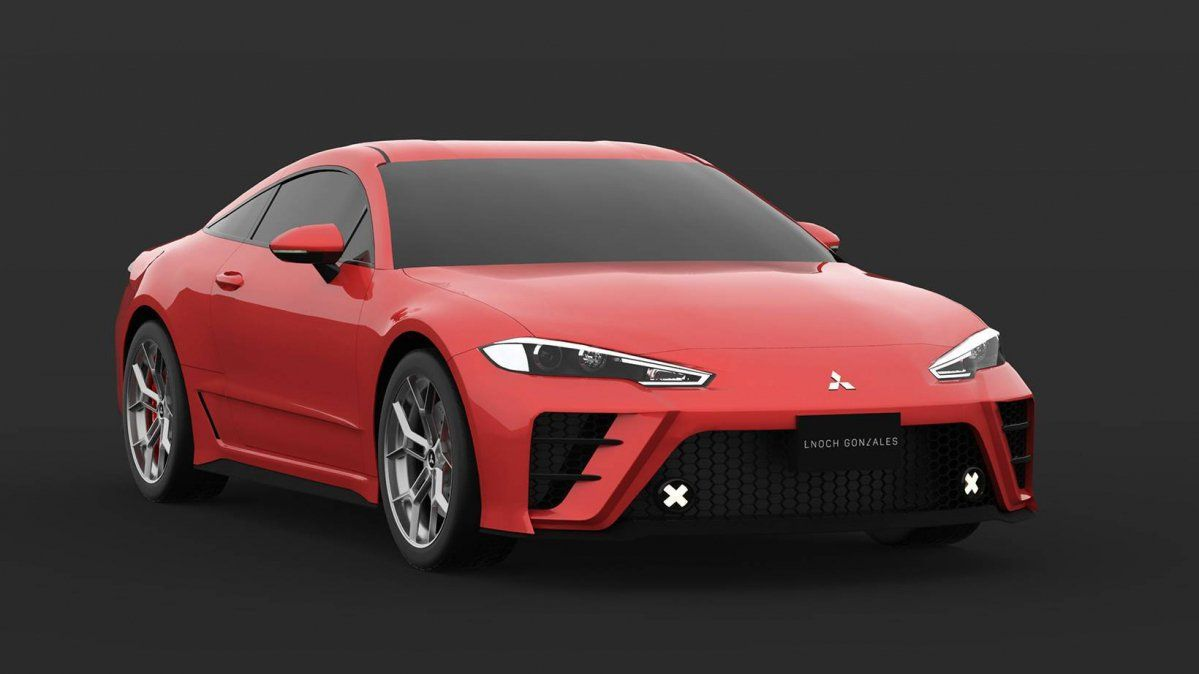 Improbable Fifth Generation Mitsubishi Eclipse Sports Coupe Looks Sensational In Photoshop