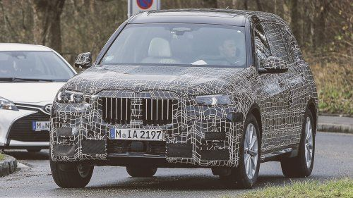 BMW X7 front