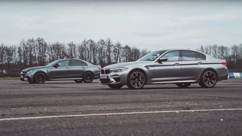 mercedes-amg e 63 S vs bmw m5