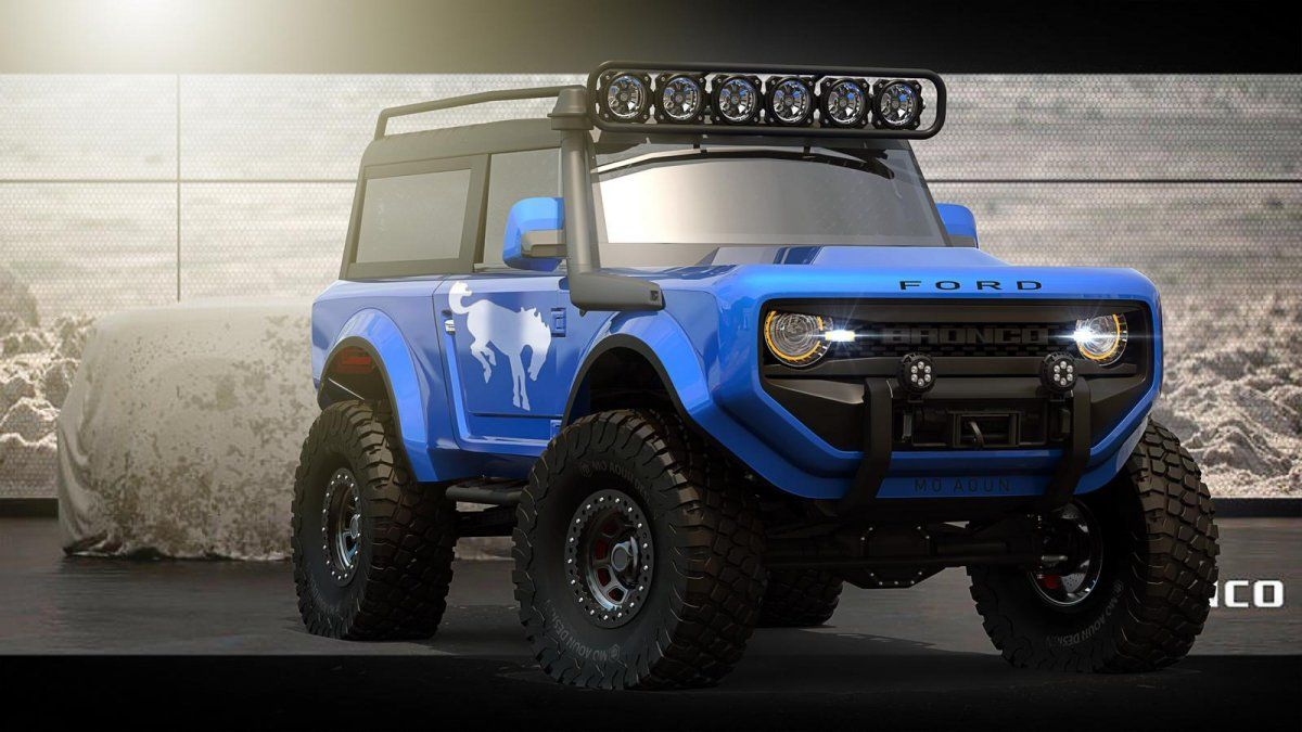 2020 Ford Bronco Imagined As A Go Everywhere 4x4
