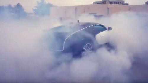bugatti veyron donut