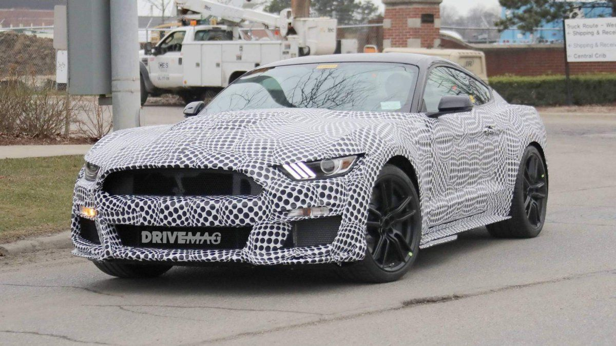 We Spy Fords 2019 Mustang Shelby Gt500 Muscle Car