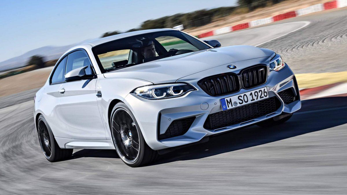 BMW M2 Competition officially revealed with 410-hp S55