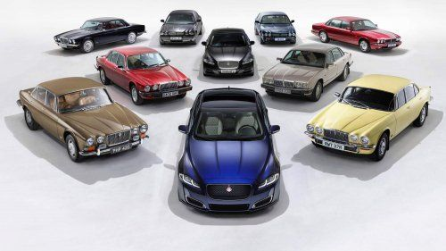 2019-Jaguar-XJ50-and-its-predecessors-0