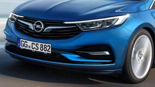 2019 Opel Astra facelift