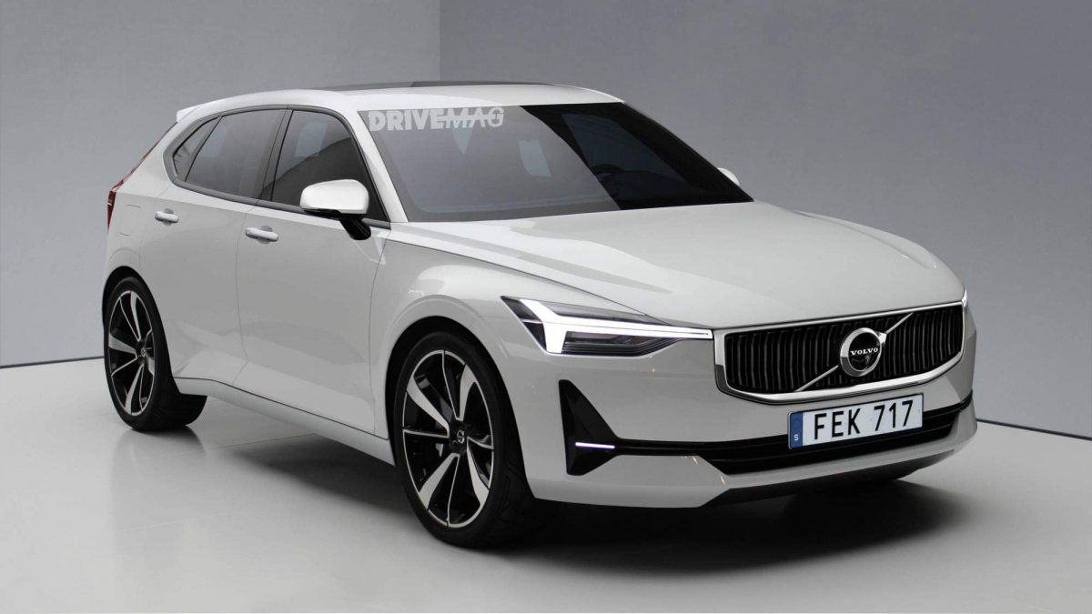 All New Volvo V40 Render Looks Spot On