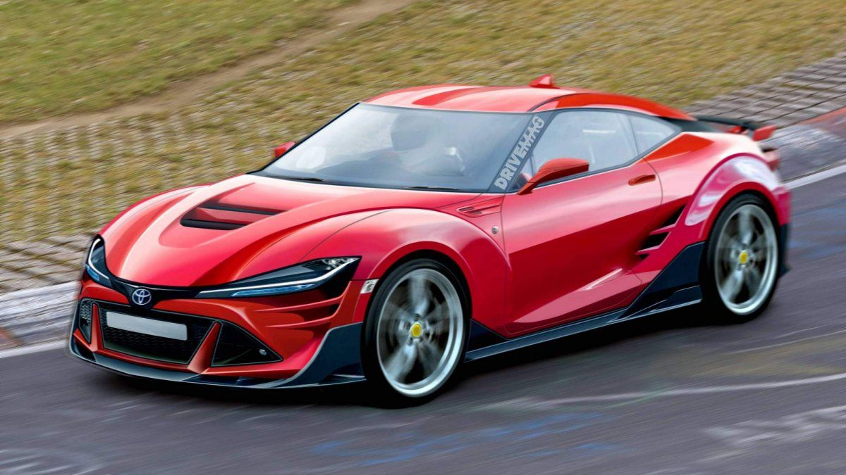 Next Generation Toyota Gt86 Rendered With Supra Styling Cues