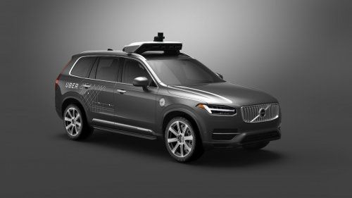 Uber self driving Volvo 1