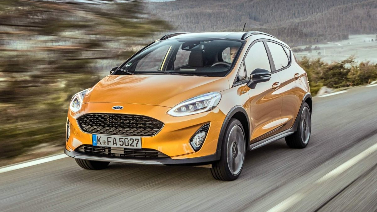 2018 Ford Fiesta Active First Drive Review Riding The Suv Craze