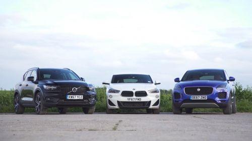 BMW X2 vs Volvo X40 vs Jaguar E-Pace