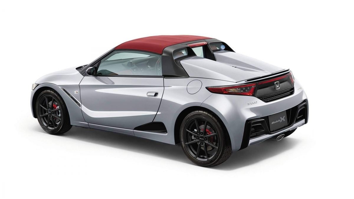 Honda S660 Modulo X Unveiled In Japan As A Sportier Version Of The