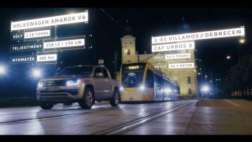 vw amarok vs tram
