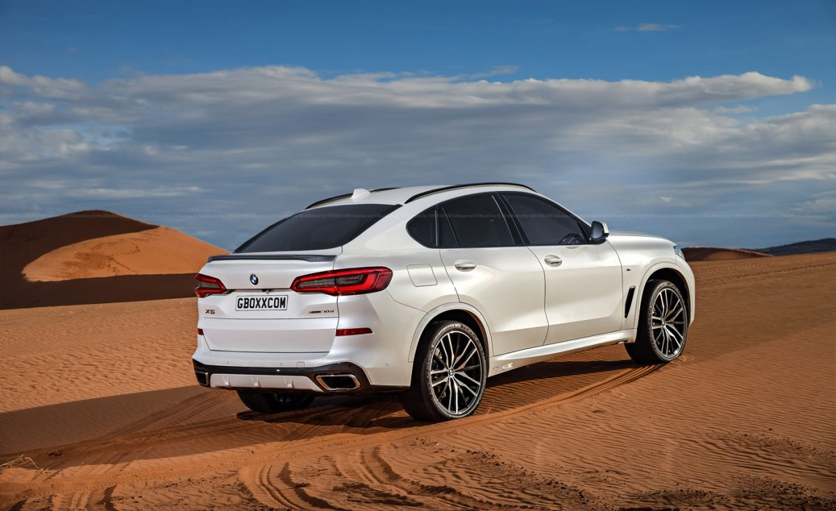 Rendering Accurately Previews 2020 Bmw X6