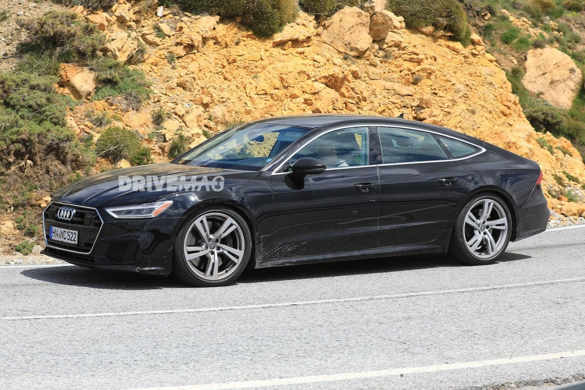 New Audi S7 Spotted With No Camouflage