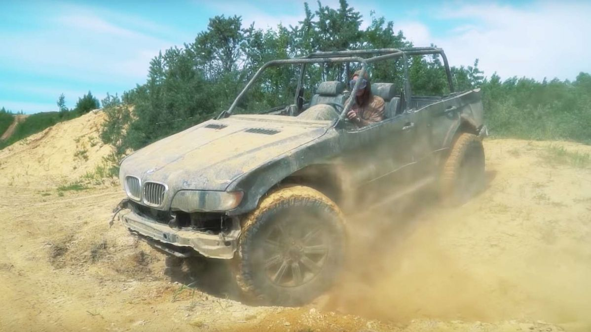 who said bmw x5 can u2019t be a cool  potent offroader