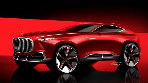 mercedes-maybach crossover vision front