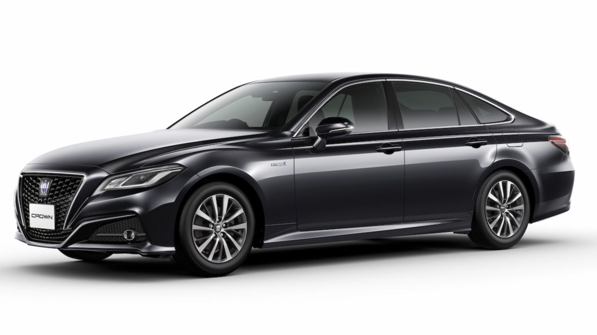 2019 Toyota Crown Unveiled In Japan