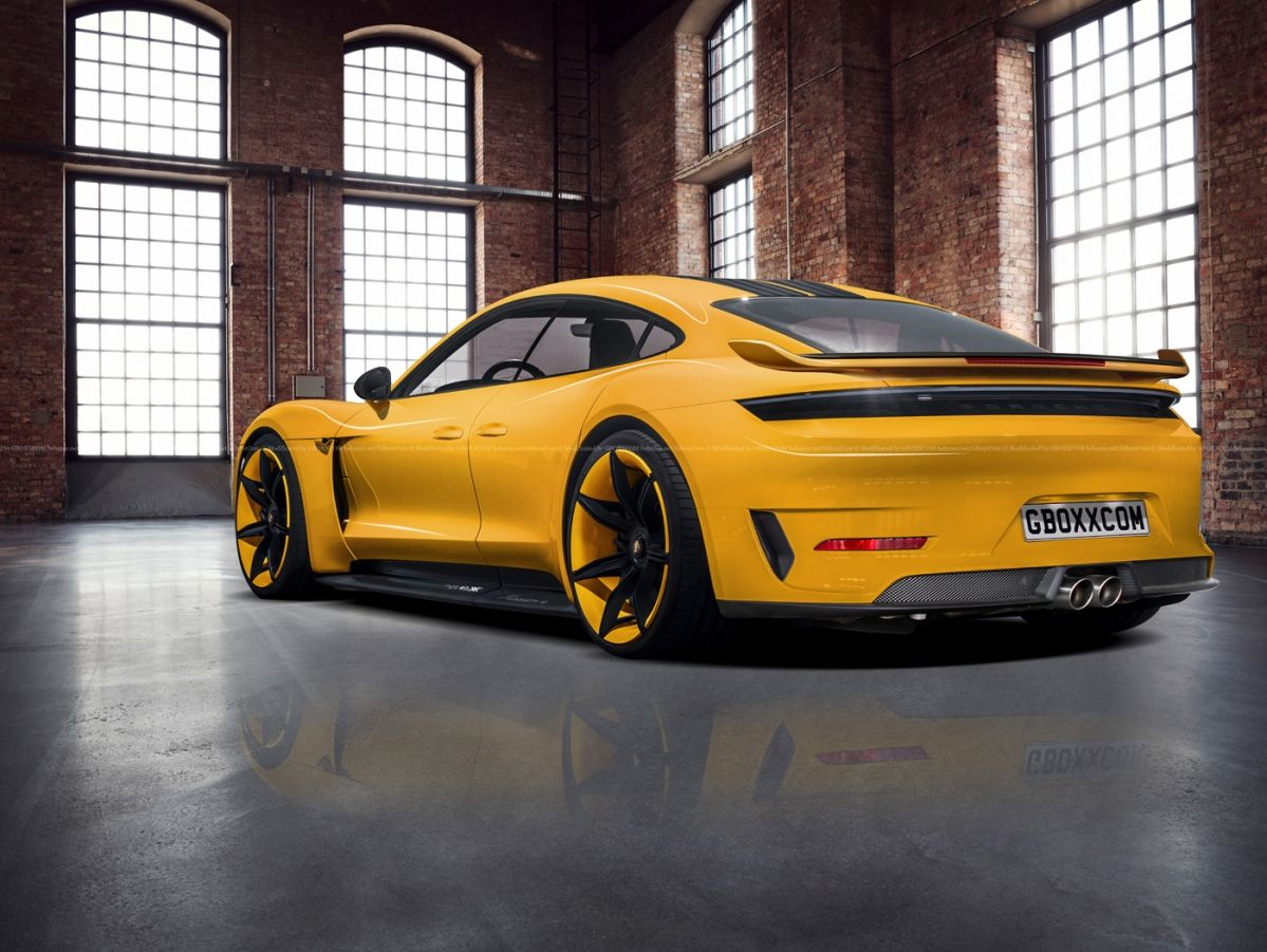 Porsche Taycan Electric Car Envisioned In Exclusive Series Attire