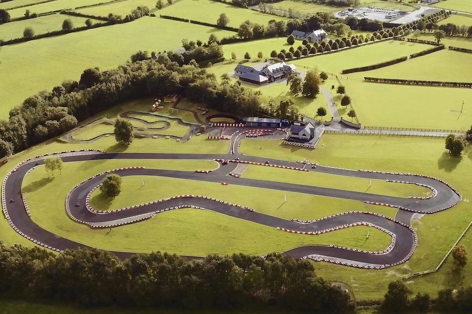 House In Ireland Has A Go Kart Track In The Backyard We Call It
