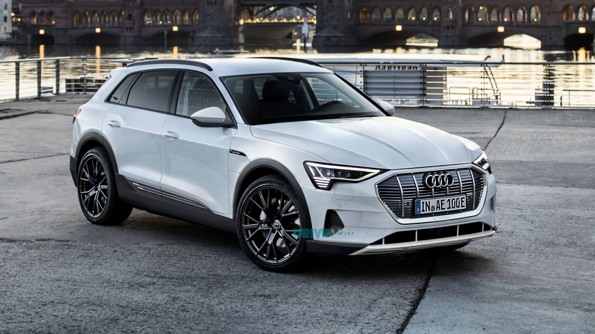 Rendered 2019 Audi E Tron Might Look Just Like This