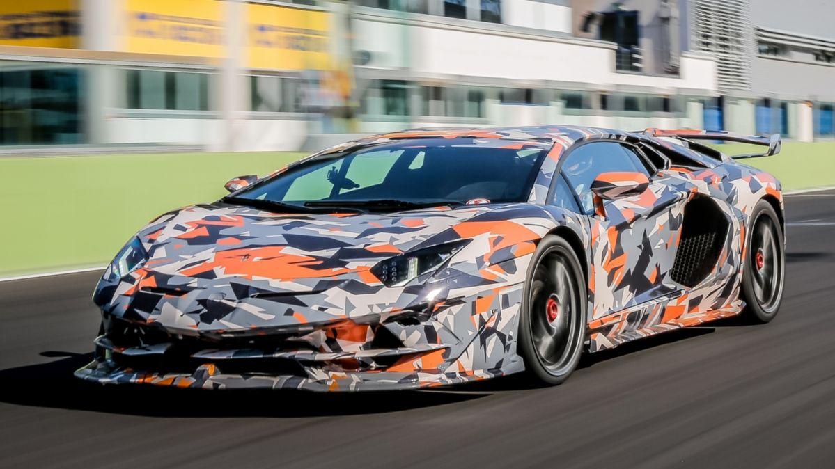 Lamborghini Aventador Svj Walkaround