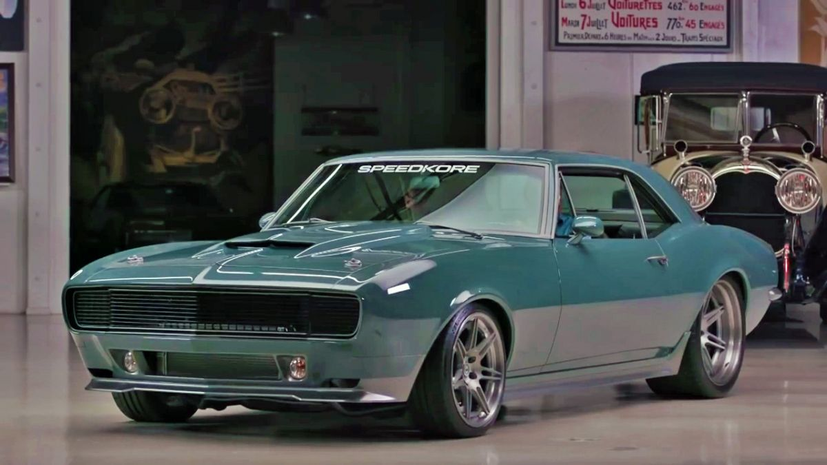 This 67 Camaro Was Designed By Robert Downey Jr For Captain America