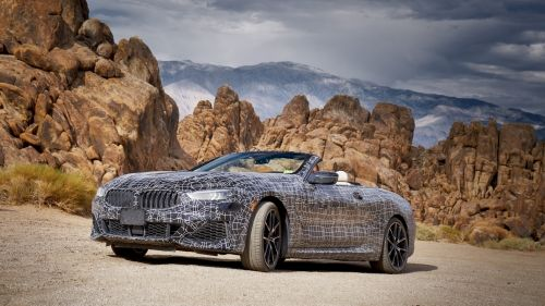 bmw 8 series convertible prototype 8