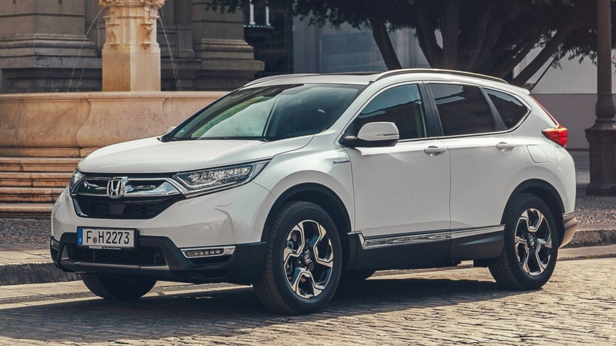 New Honda Cr V Hybrid Unveiled Before Paris Motor Show Debut