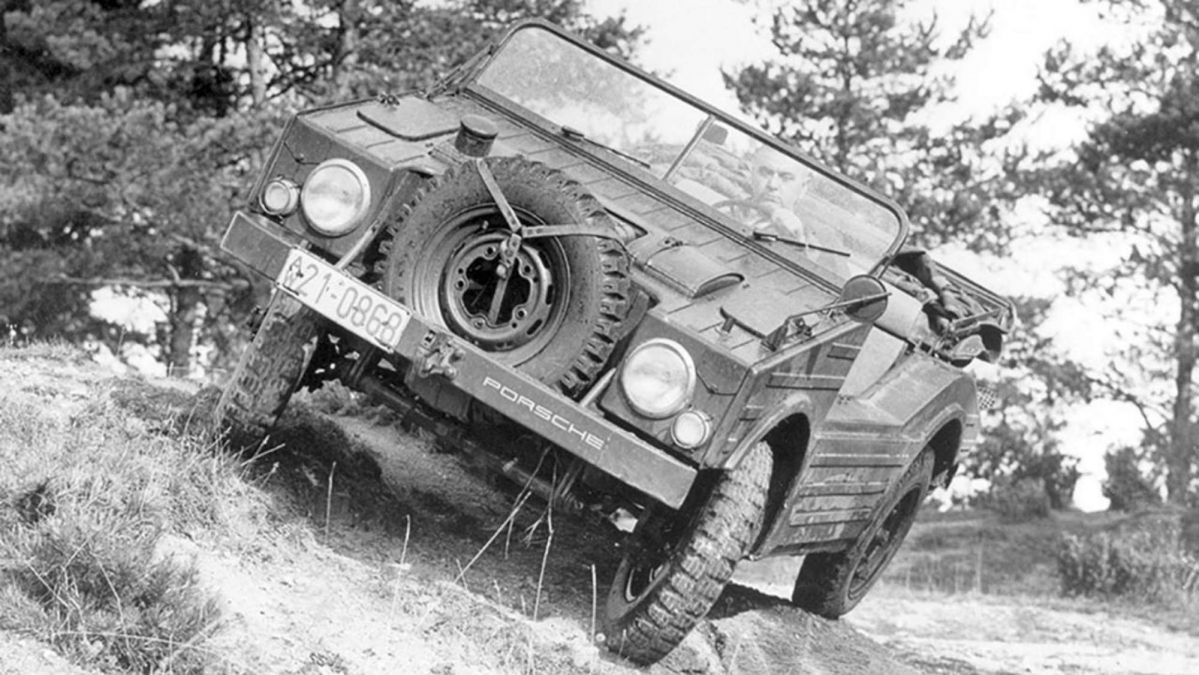 Type 597: the first all-wheel-drive Porsche in history