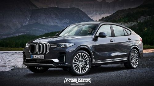 BMW X8 X-Tomi Design render