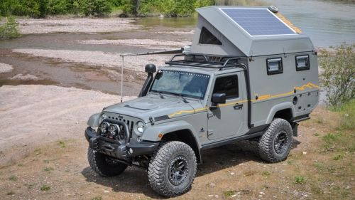 outpost II jeep camper