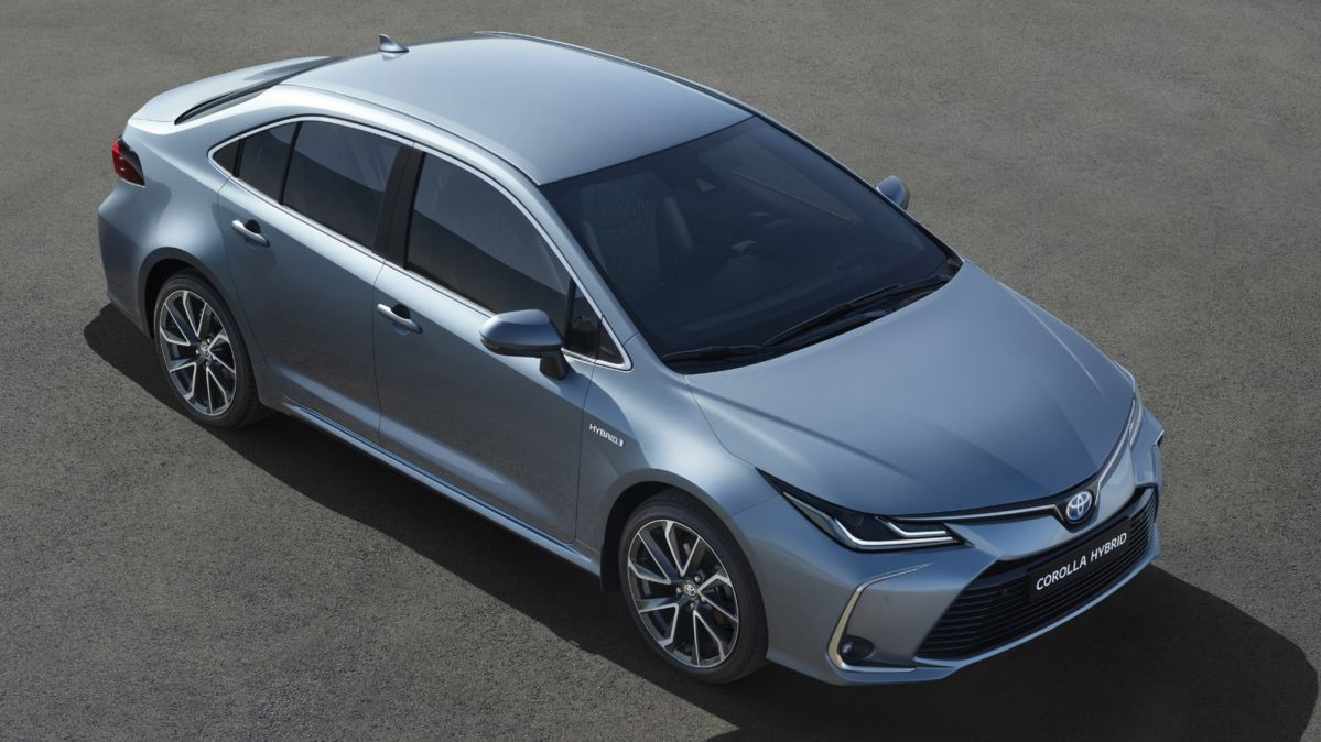 This Is The New 2019 Toyota Corolla Sedan
