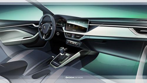 skoda-scala-interior-sketch