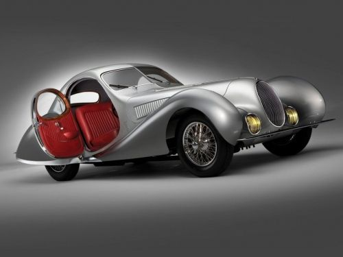 1938 Talbot-Lago T150-C SS Teardrop Coupe by Figoni et Falasco 06