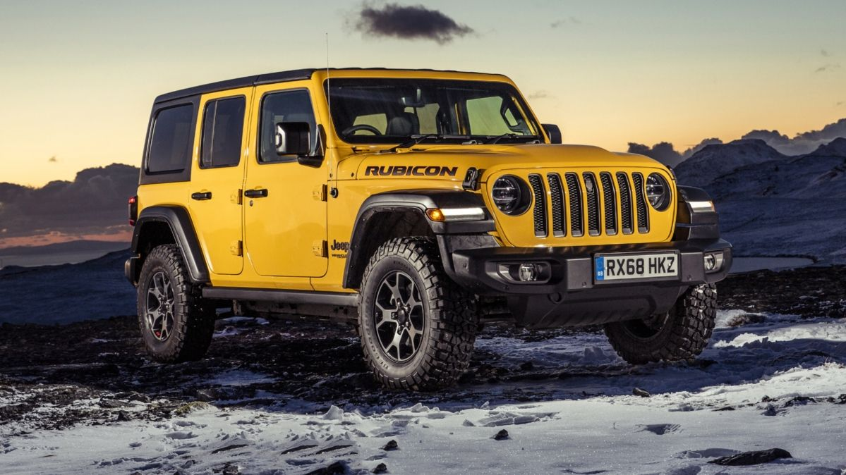 New Jeep Wrangler starts at £44,865 in the UK
