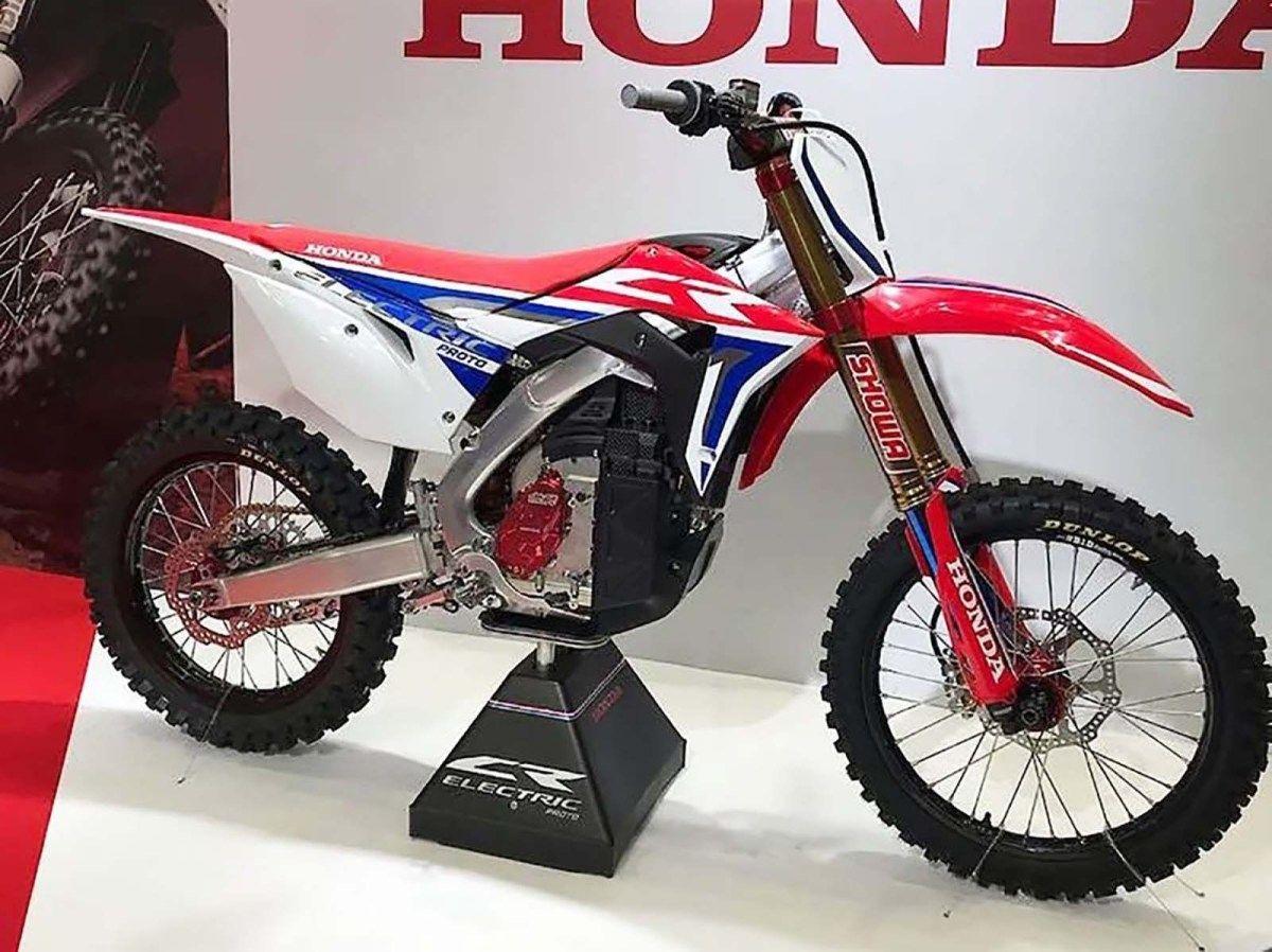 90f09bedf7e Honda Electric Dirt Bike Breaks Cover