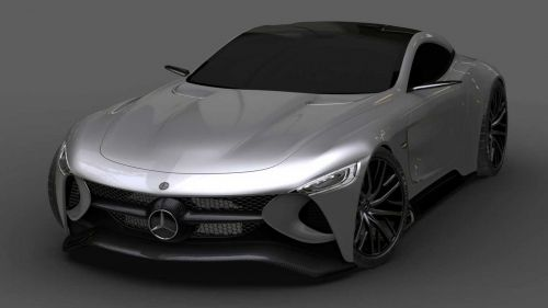 Mercedes SLR Vision Concept by Invisive 3