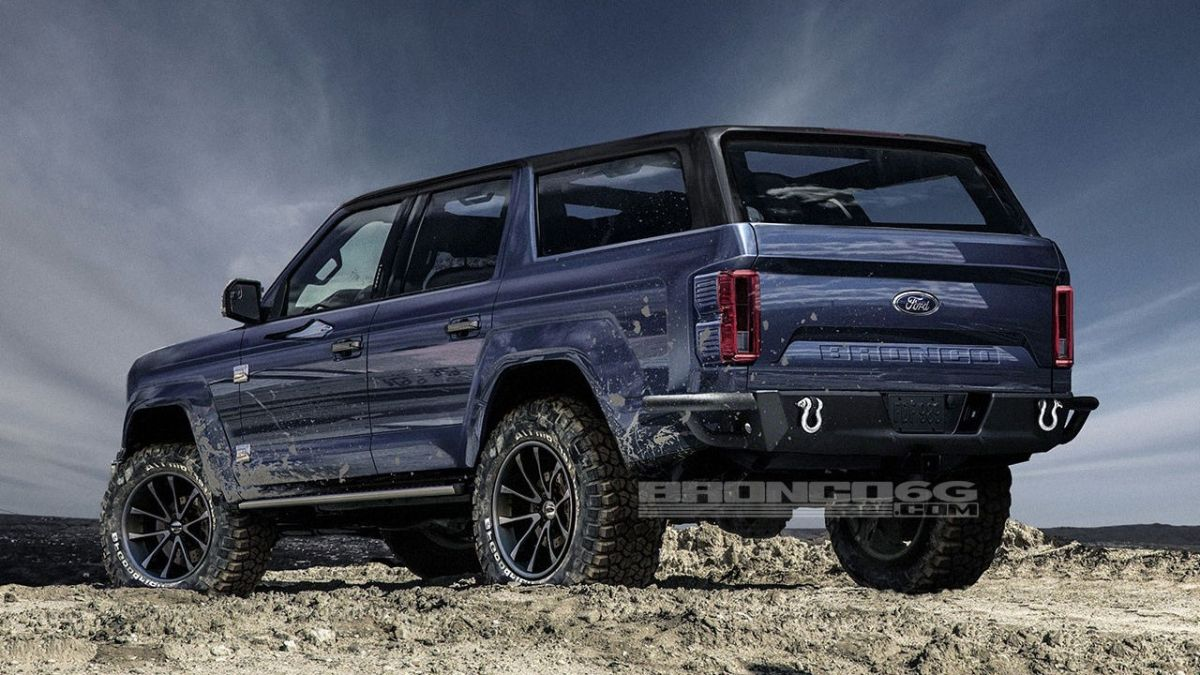 new 2020 ford bronco to use ranger bits and bobs