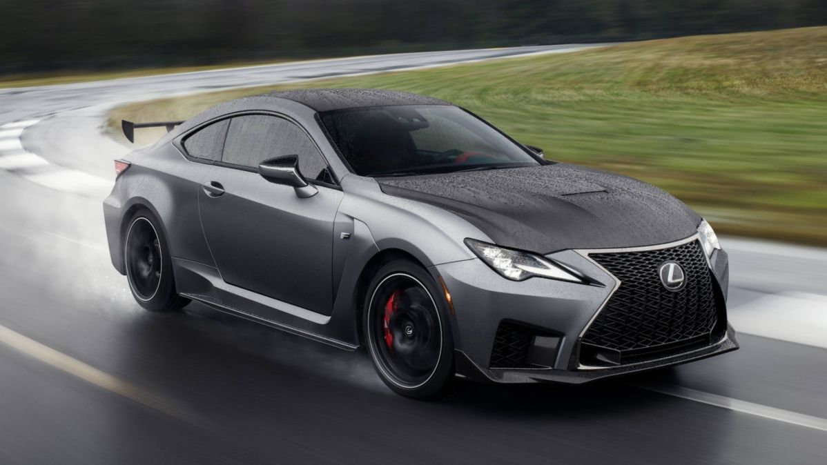 Check out the 2020 Lexus RC F and RC F Track Edition
